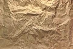 Fundo Textured papel de empacotamento Fotografia de Stock