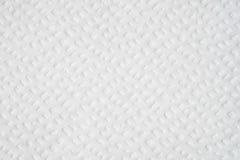 Fundo textured peper da limpeza do lenço de papel Fotografia de Stock