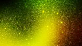 Fundo textured protegido amarelo e vermelho verde do brilho wallpaper ilustração royalty free