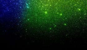 Fundo textured protegido verde e preto azul do brilho wallpaper ilustração stock