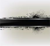 Fundo textured sumário com um frame do metal ilustração stock