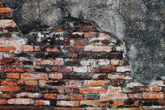 Fundo Textured, teste padrão velho da parede de tijolo Fotografia de Stock