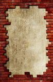 Fundo textured tijolo de Grunge Fotografia de Stock Royalty Free