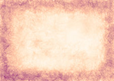 Fundo textured tirado do grunge Papel amarrotado Bandeira horizontal Fotografia de Stock Royalty Free