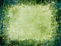 Fundo Textured verde Foto de Stock