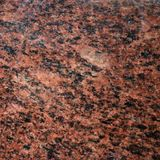 Fundo tileable lustrado do granito vermelho foto de stock royalty free