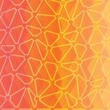 Fundo triangular abstrato Imagens de Stock