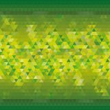 Fundo triangular amarelo verde para anunciar projeto moderno do papel de parede - Vektorgrafik ilustração do vetor