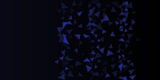 Fundo triangular Composi??o abstrata dos tri?ngulos 3d ilustração do vetor