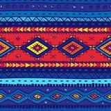 Fundo tribal do vetor sem emenda Fundo para um cartão do convite ou umas felicitações ilustração royalty free