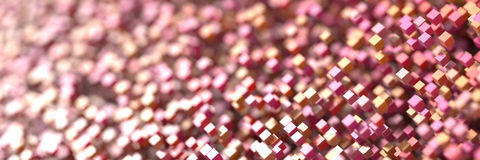 Fundo tridimensional dos cubos Imagem de Stock Royalty Free