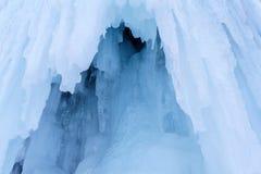Fundo - um fragmento da geleira imagem de stock royalty free