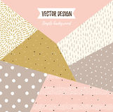 Fundo universal textured simples geométrico Ilustração do vetor do vetor para seu projeto ilustração do vetor