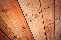 Fundo unpainted de madeira da textura Foto de Stock Royalty Free