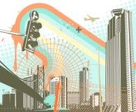 Fundo urbano Imagens de Stock