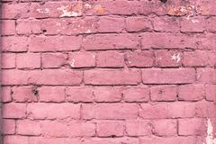 Fundo urbano ascendente próximo da parede de tijolo do vermelho imagens de stock