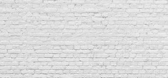 Fundo urbano branco da parede de tijolo na alta resolução fotografia de stock royalty free