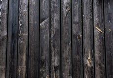 Fundo urbano escuro de madeira, textura de madeira velha Imagem de Stock
