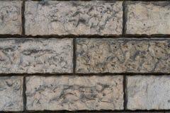 Fundo urbano natural de alta resolução perfeito da parede de tijolo Fotos de Stock