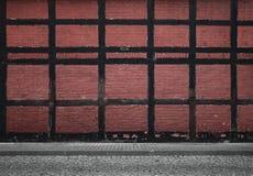 Fundo urbano velho fotografia de stock