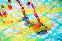 Fundo vívido brincalhão e textura, contrastes ilustração do vetor