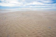 Fundo vazio do mar e da praia Imagem de Stock