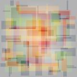 Fundo vazio quadrado colorido Fotografia de Stock