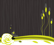 Fundo vegetal Ilustração Royalty Free