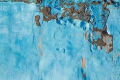 Fundo velho azul da textura da parede do cimento do Grunge fotografia de stock