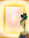 Fundo velho com rosas Fotografia de Stock Royalty Free