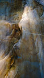 Fundo velho da cama de rio da formação de rocha Imagens de Stock