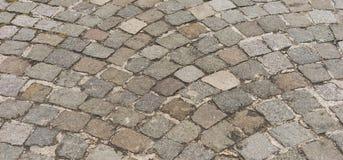 Fundo velho da estrada da pedra Imagem de Stock Royalty Free