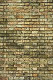 Fundo velho da parede de tijolo Fotografia de Stock