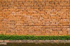 Fundo velho da parede de tijolo Imagem de Stock