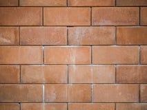 Fundo velho da parede de tijolo do vintage Fotos de Stock