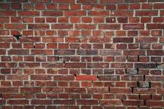 Fundo velho da parede de tijolos Imagem de Stock