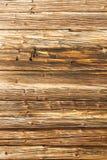 Fundo velho da parede do log Fotografia de Stock