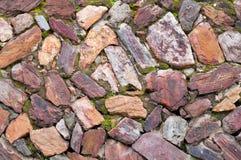 Fundo velho da pedra da parede do vintage Imagem de Stock