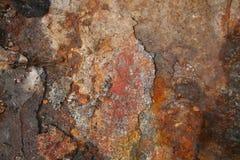 Fundo velho da textura da oxidação Foto de Stock Royalty Free