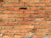 Fundo velho da textura da parede de tijolo vermelho Imagem de Stock Royalty Free