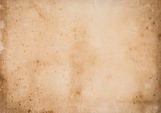 Fundo velho da textura do papel do vintage Fotografia de Stock