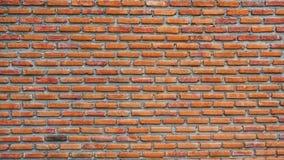 Fundo velho da textura da parede de tijolo vermelho imagem de stock