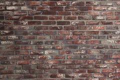 Fundo velho da textura da parede de tijolo vermelho textured Fotografia de Stock
