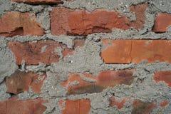 Fundo velho das paredes de tijolo foto de stock