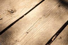 Fundo velho de madeira Fotografia de Stock Royalty Free