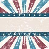 Fundo velho do americano das cores Foto de Stock Royalty Free
