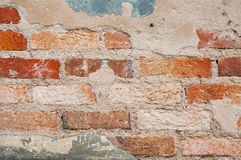 Fundo velho do bloco da parede de tijolo Fotos de Stock