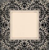 Fundo velho do quadro do ornamento Foto de Stock Royalty Free