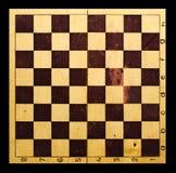 Fundo velho do tabuleiro de xadrez Imagem de Stock