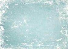 Fundo velho ou textura do papel verde Fotos de Stock
